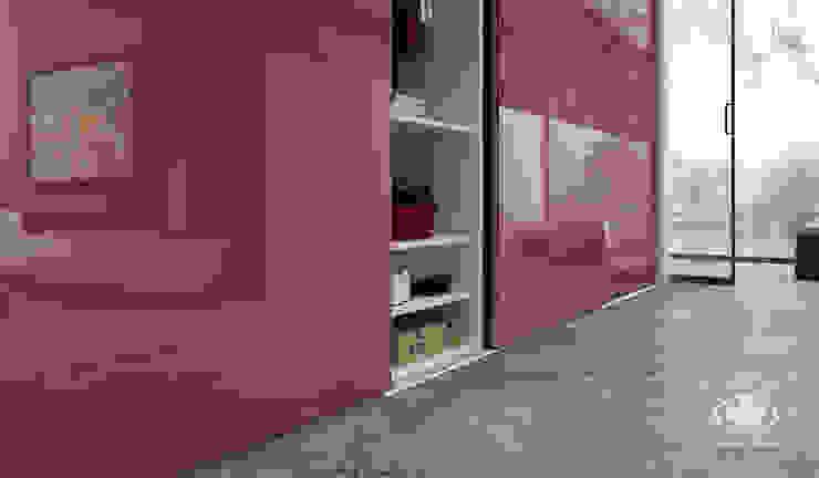Komandor - Wnętrza z charakterem Living roomCupboards & sideboards Chipboard Brown