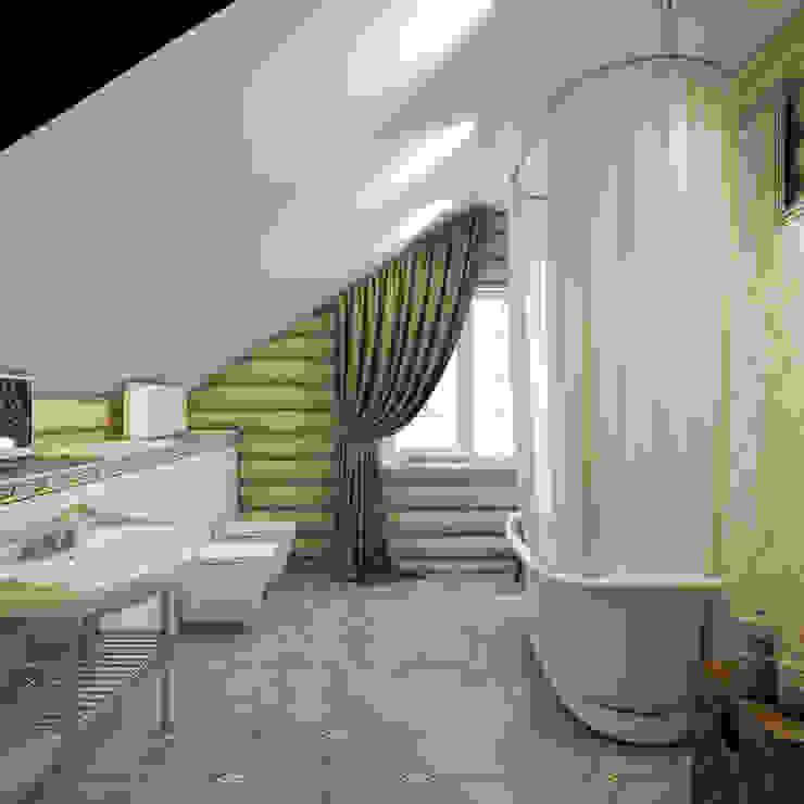 Baños de estilo  por Студия дизайна интерьера ART-Labs