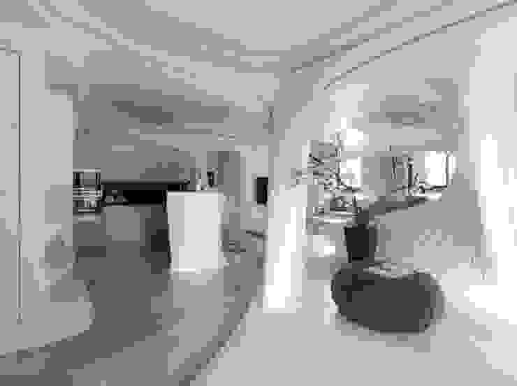 自然不造作 零角度唯美宅 現代廚房設計點子、靈感&圖片 根據 Luova 創研俬.集 現代風 水泥