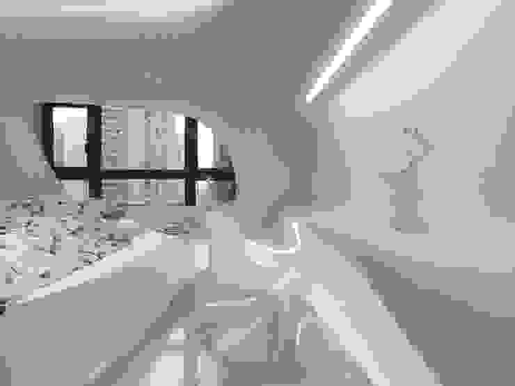 自然不造作 零角度唯美宅 根據 Luova 創研俬.集 現代風 水泥