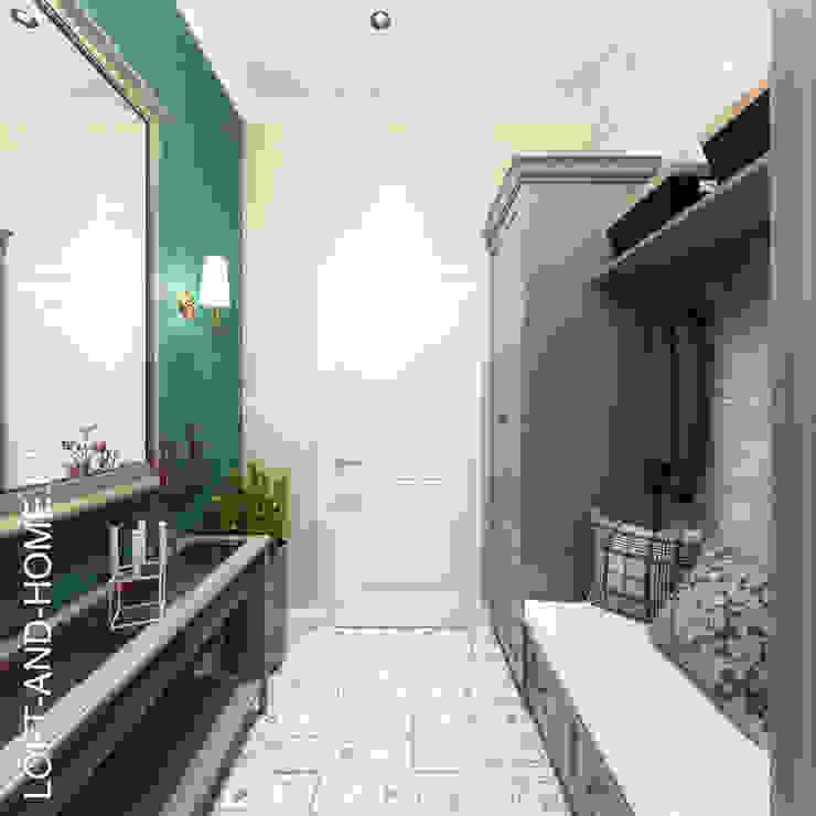經典風格的走廊,走廊和樓梯 根據 homify 古典風