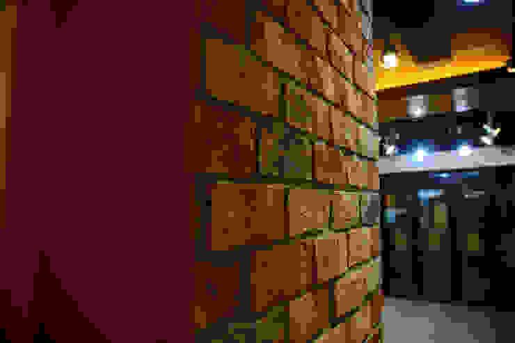 찜스토리 인테리어 부분 모던스타일 정원 by inark [인아크 건축 설계 디자인] 모던 벽돌