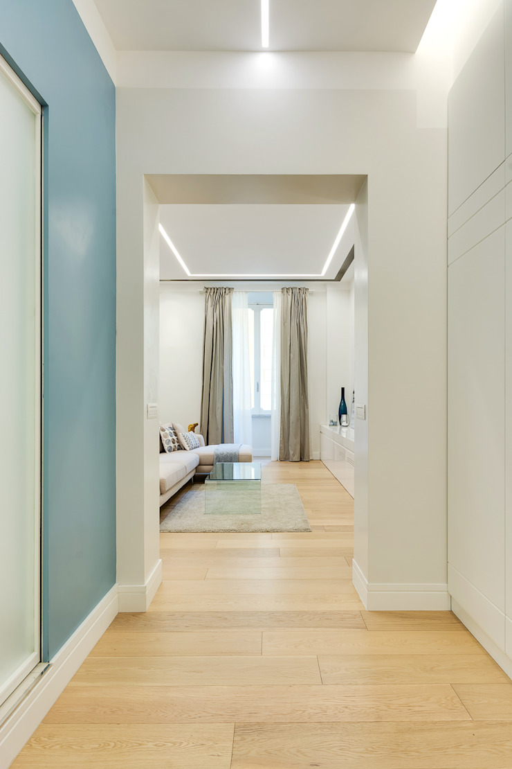 Modern Living Room by SERENA ROMANO' ARCHITETTO Modern Wood Wood effect