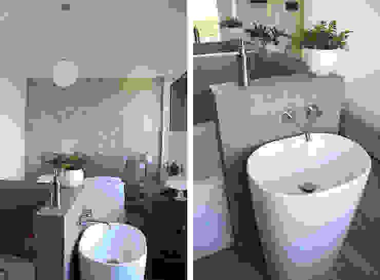 Camera da Letto Matrimoniale con Bagno Camera da letto moderna di Architetto Luigia Pace Moderno Piastrelle