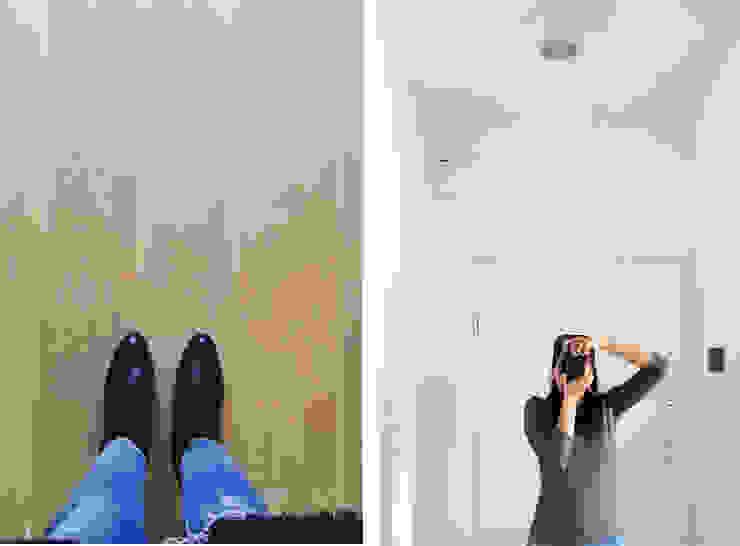Ingresso Ingresso, Corridoio & Scale in stile moderno di Architetto Luigia Pace Moderno Legno Effetto legno