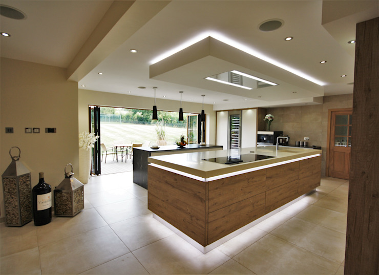 Wickham Bishops, Witham Cocinas modernas: Ideas, imágenes y decoración de Kitchencraft Moderno