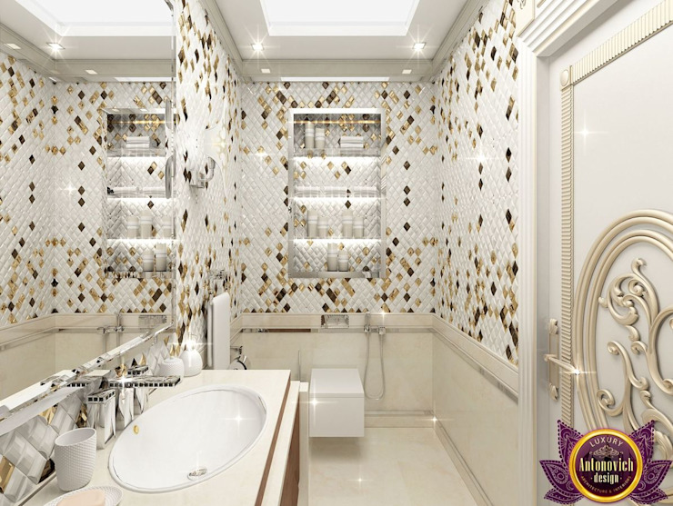 Luxury Antonovich Design Classic style bathrooms