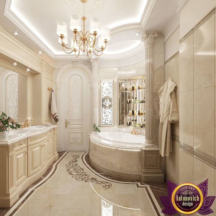 Bathroom by Luxury Antonovich Design, Classic