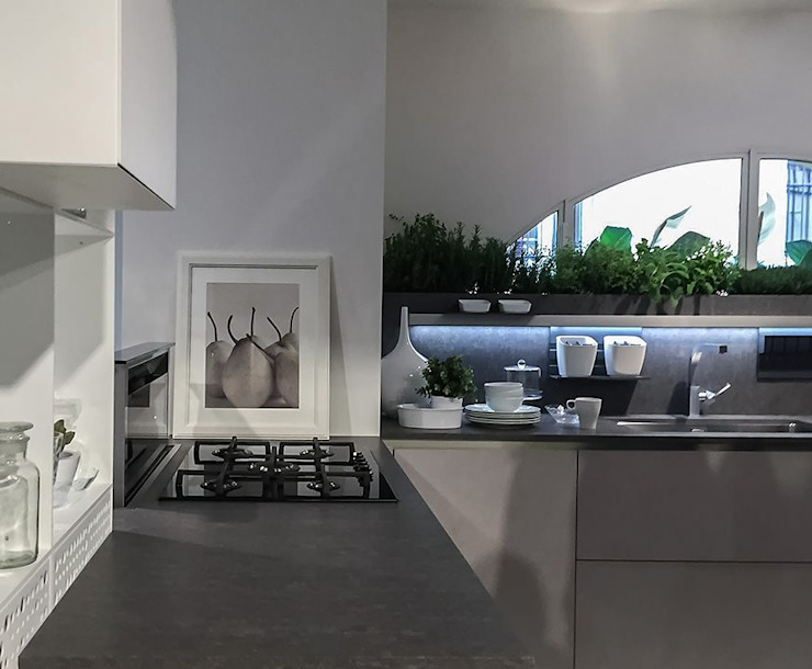 Moderne Küchen von casa&stile interior design e ristrutturazioni Modern
