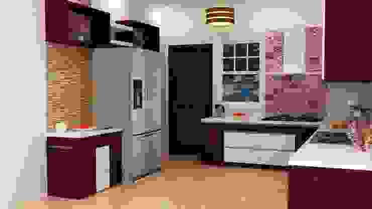 Omexe city Modern kitchen by Anushri Interiors Modern