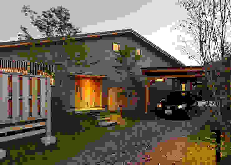 根據 磯村建築設計事務所 日式風、東方風