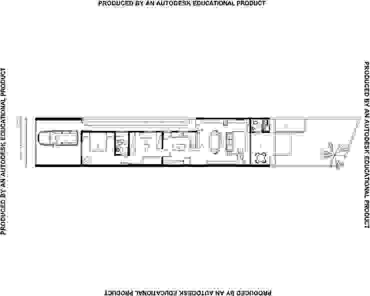 Maisons modernes par Studio + Arquitetura e Urbanismo Moderne Béton