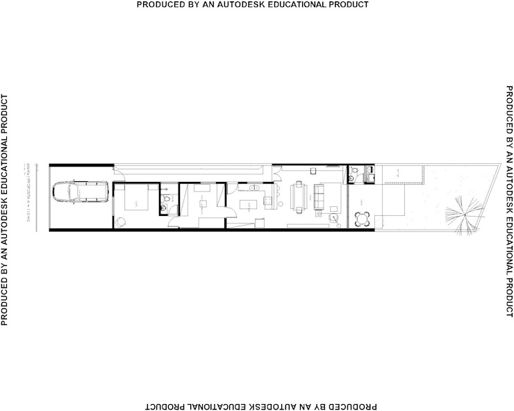Studio + Arquitetura e Urbanismo Moderne Häuser Beton Weiß