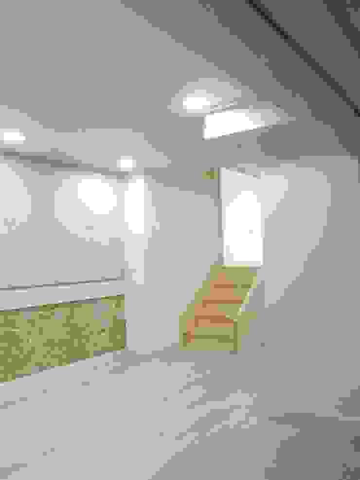 홍제동 협소주택 – H2135 모던스타일 서재 / 사무실 by 마음담은 건축 모던