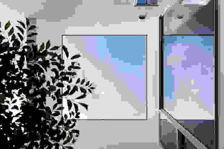 中庭の見上げ 株式会社seki.design モダンな 家