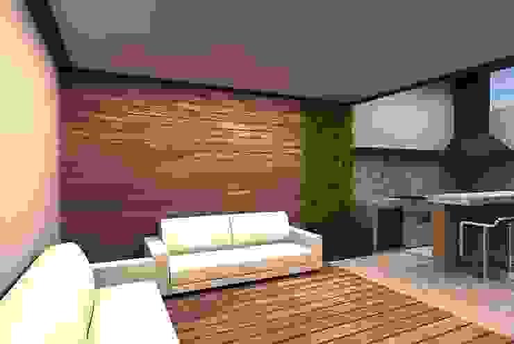Ausgefallener Balkon, Veranda & Terrasse von Arstudio Ausgefallen Keramik