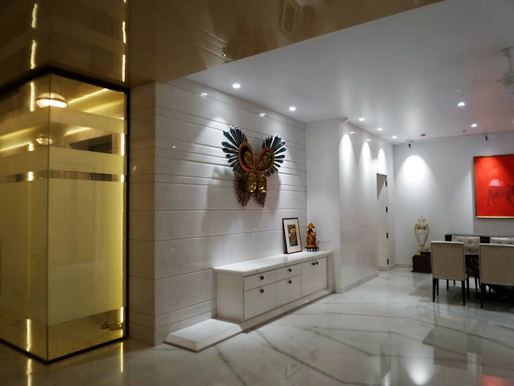 Dining Unit Eclectic style dressing room by bhatia.jyoti Eclectic