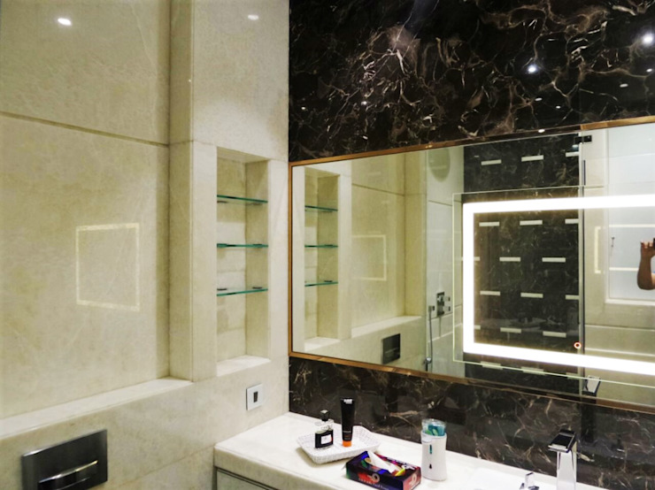 Guest Room Ensuite Eclectic style bathroom by bhatia.jyoti Eclectic