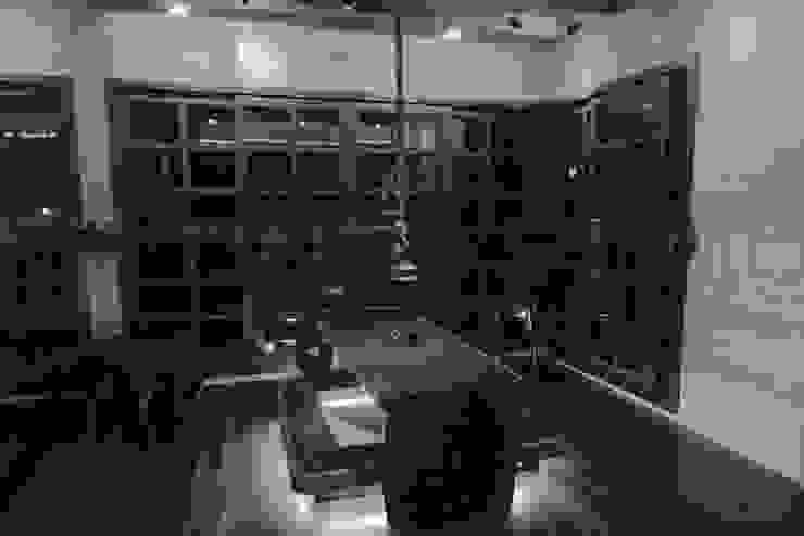 閮檍設計 Ting Yi Design Living room Solid Wood Brown