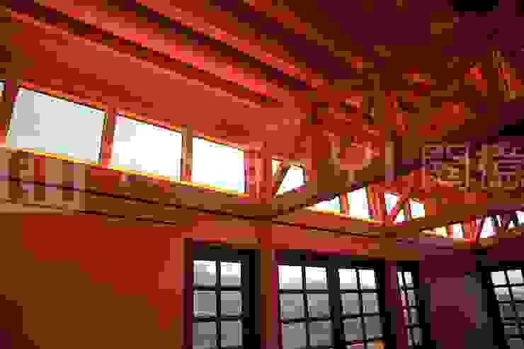 閮檍設計 Ting Yi Design Classic windows & doors Solid Wood Blue