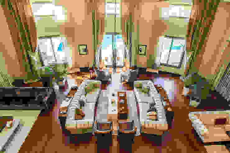 غرفة المعيشة تنفيذ Mimode Mimarlık/Architecture, حداثي
