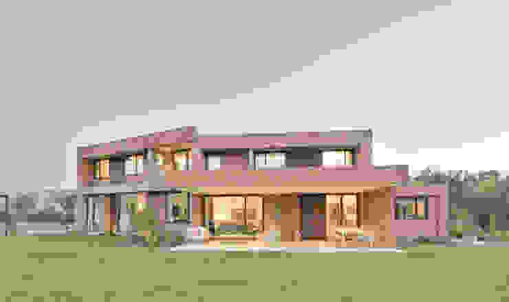 Case in stile  di Grupo E Arquitectura y construcción