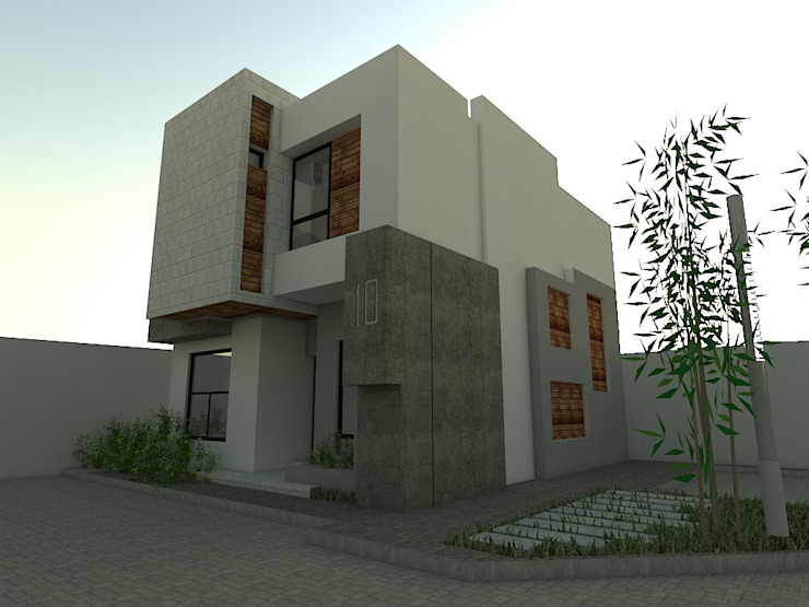 Villa Chinita Casas modernas de Arquitectura Marcel Rivero Moderno Piedra
