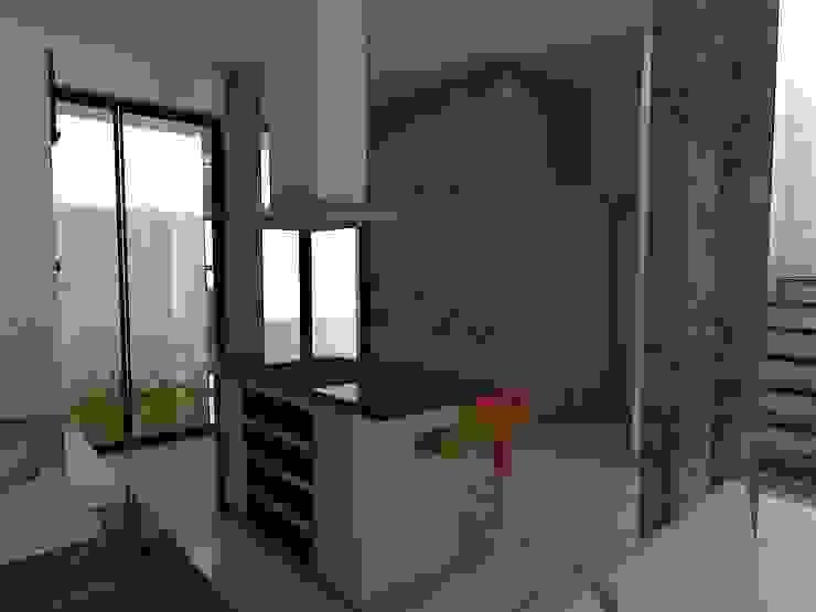 Villa Chinita de Arquitectura Marcel Rivero Moderno Granito