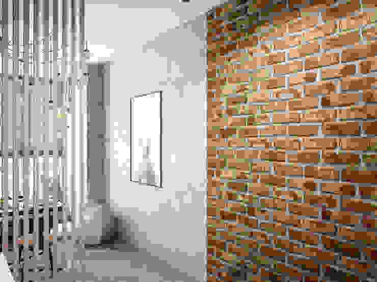 Soggiorno in stile industriale di Tatiana Zaitseva Design Studio Industrial