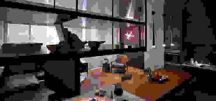 Li Residence 現代廚房設計點子、靈感&圖片 根據 沈志忠聯合設計 現代風