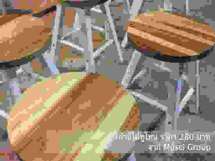เก้าอี้ไม้ โดย บ. มอสซี จำกัด