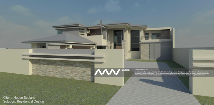 House Sediane Perspective View by MNDSA Environmental