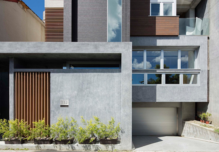 Maisons modernes par 前置建築 Preposition Architecture Moderne