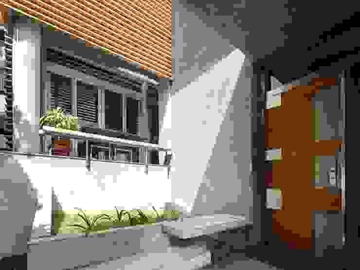 Rumah Modern Oleh 前置建築 Preposition Architecture Modern
