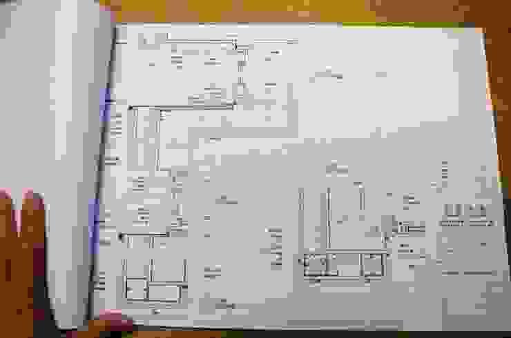 大量詳盡的設計圖 現代房屋設計點子、靈感 & 圖片 根據 前置建築 Preposition Architecture 現代風
