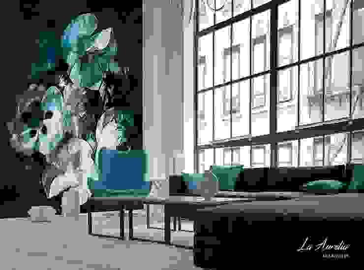 Fleur #160901 Wallpaper: modern  door La Aurelia , Modern