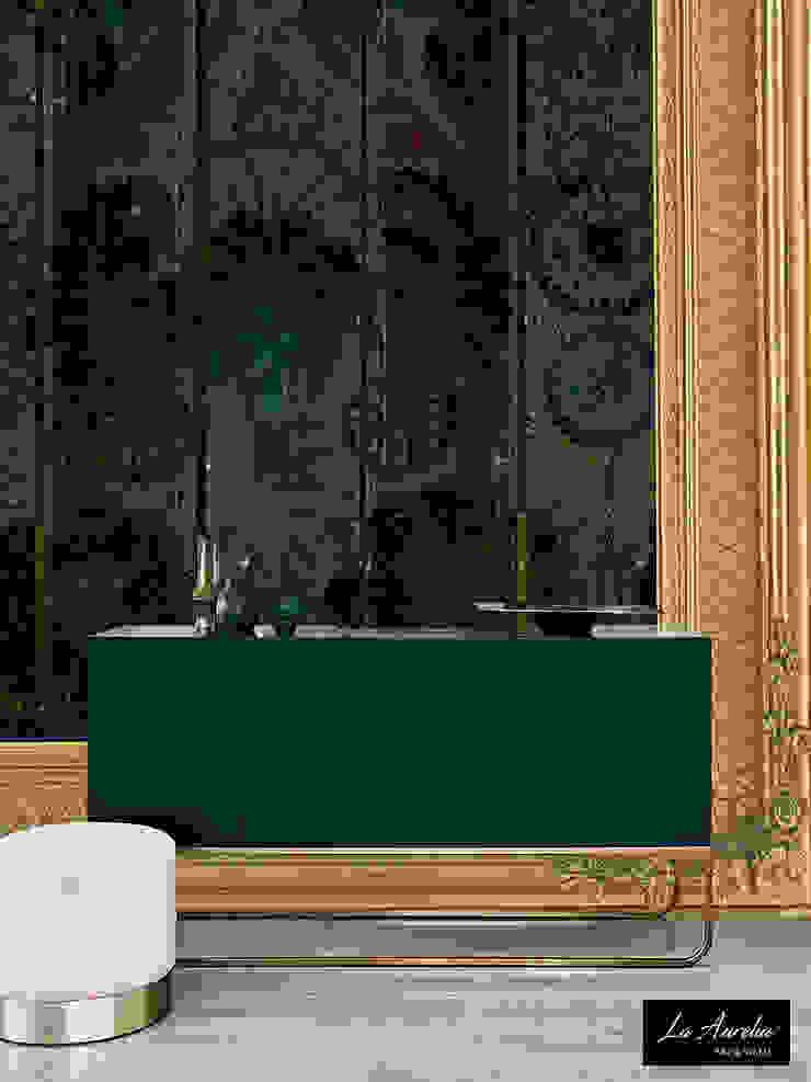 Oasis #160918 Framed Wallpaper: modern  door La Aurelia , Modern