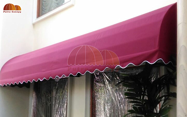 Canopy Kain Jakarta Oleh Putra Canopy Klasik Tekstil Amber/Gold
