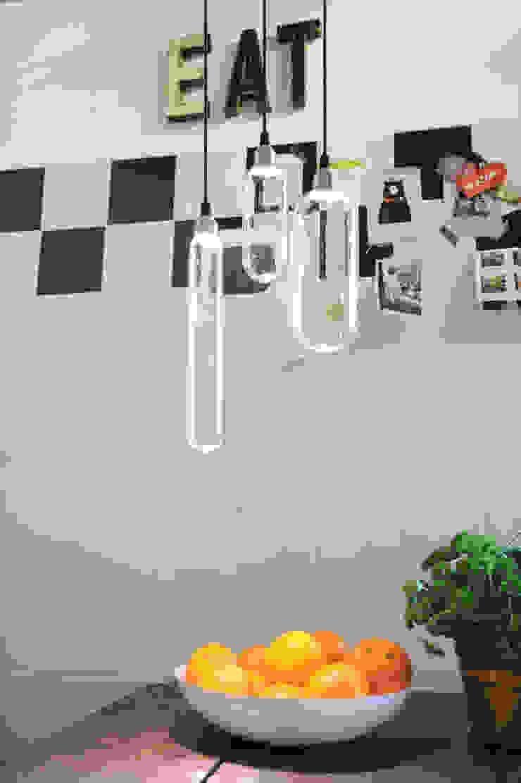 Van links naar rechts Ceci T6, T14 en T20: modern  door Studio Sander Mulder, Modern Glas