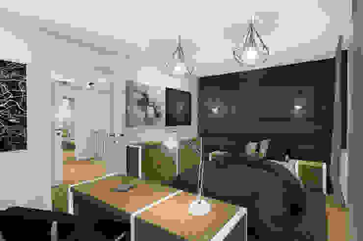 Dormitorios modernos de KOKON zespół architektoniczny Moderno