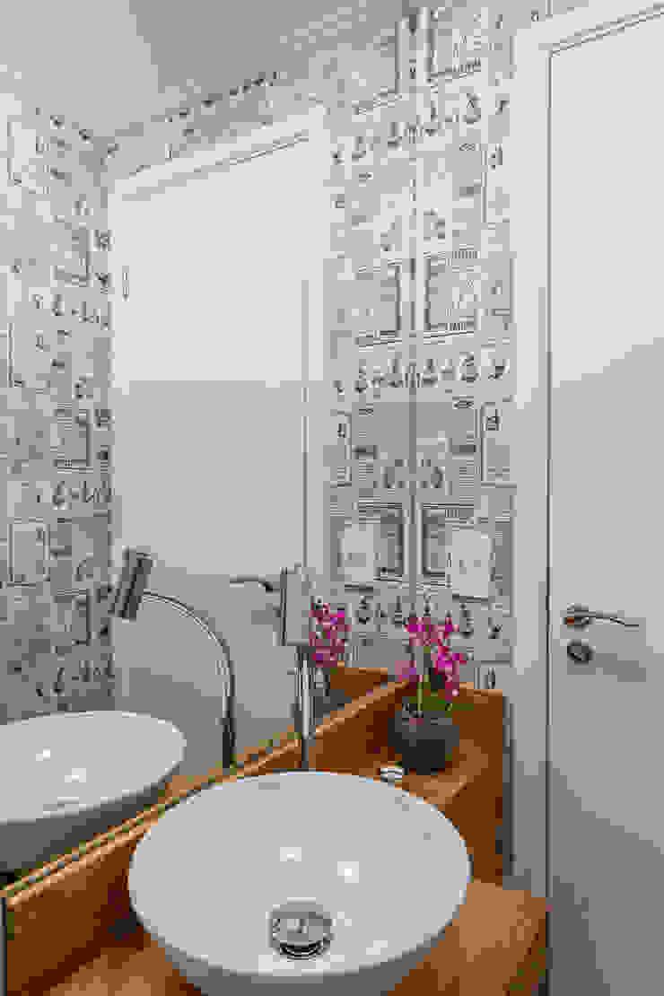 São Caetano 53 Casa 27 Arquitetura e Interiores Banheiros modernos