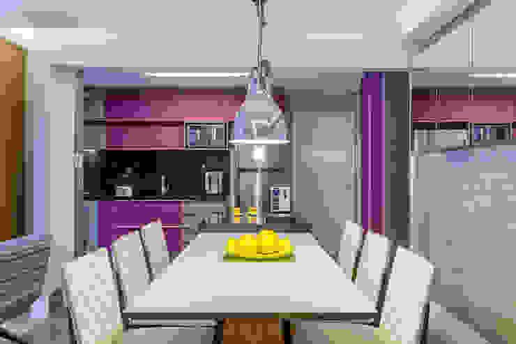 São Caetano 53 Casa 27 Arquitetura e Interiores Salas de jantar modernas