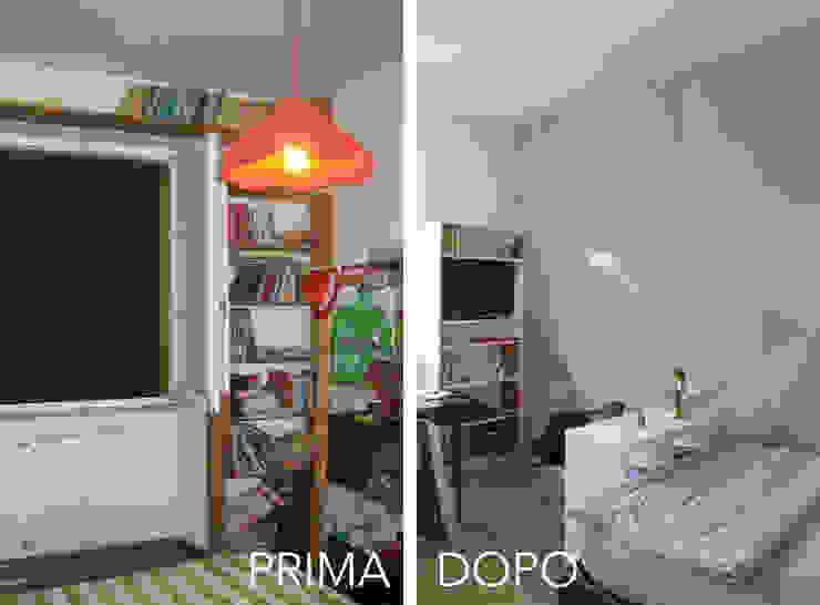 La Cameretta PRIMA / DOPO di Architetto Luigia Pace Moderno