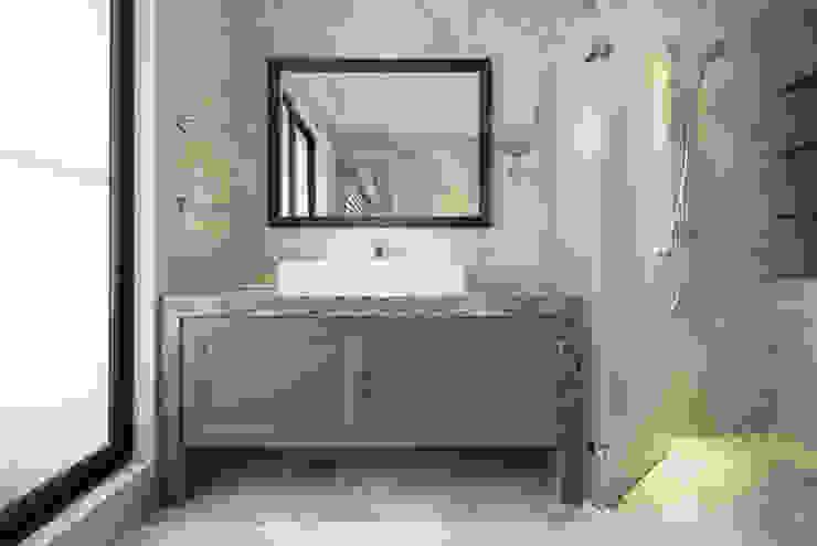 靜,器 現代浴室設計點子、靈感&圖片 根據 思為設計 SW Design 現代風