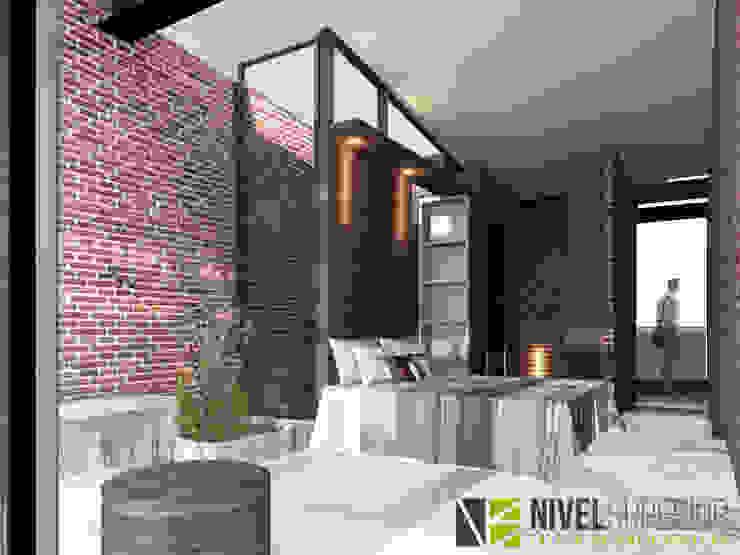 Cuartos de estilo moderno de NIVEL SUPERIOR taller de arquitectura Moderno