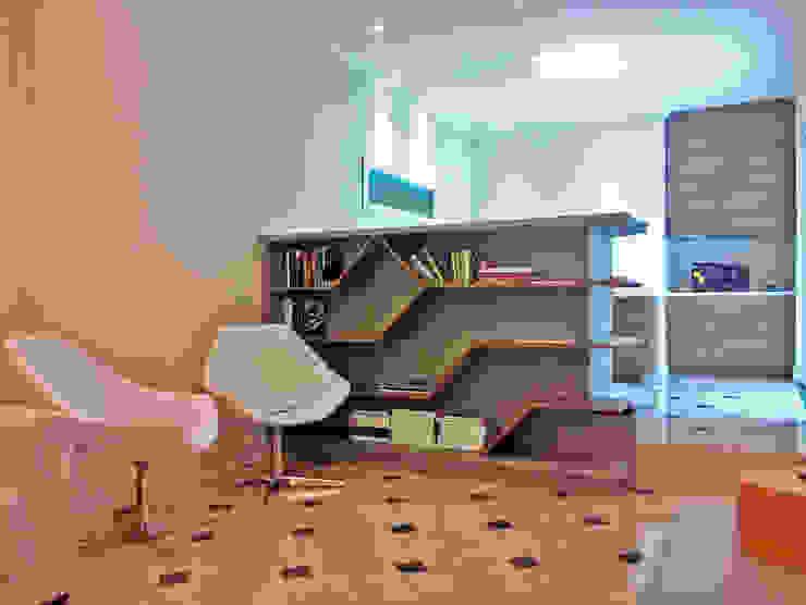 de studio luchetti Moderno Compuestos de madera y plástico