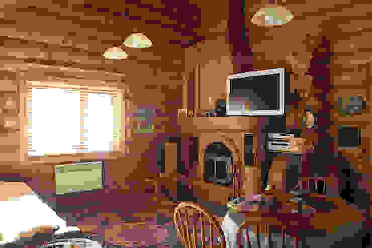 Техно-сруб Living roomAccessories & decoration