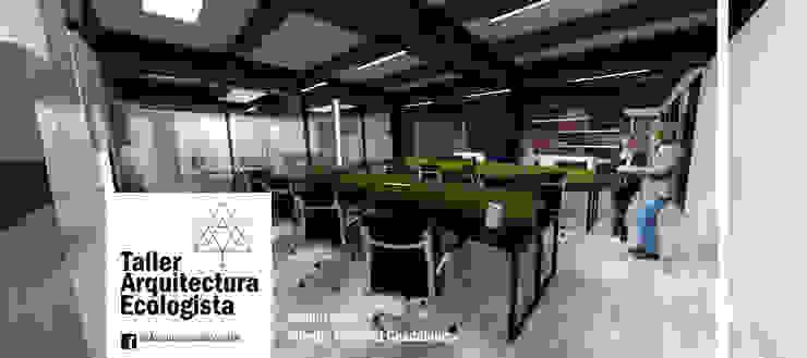 Oficinas Corportaivas by Arquitectura Ecologista Minimalist Aluminium/Zinc