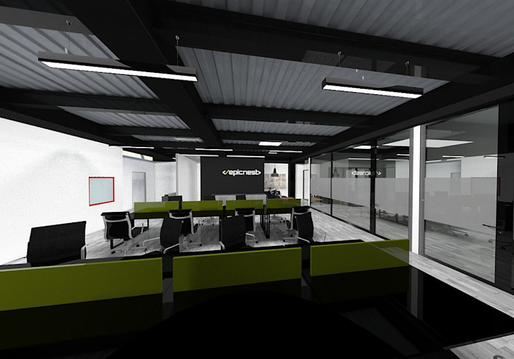 Interior Oficinas by Arquitectura Ecologista