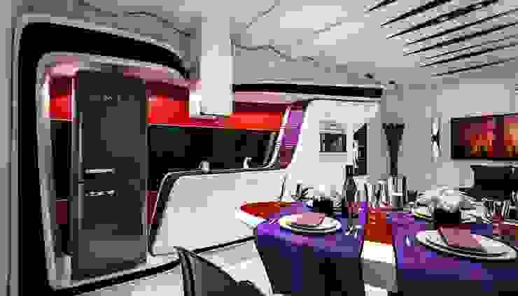 Denis Confalonieri - Interiors & Architecture Cocinas de estilo moderno